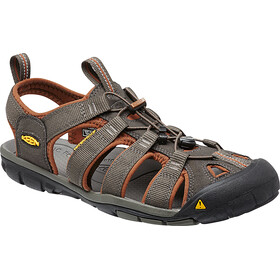 Keen Clearwater CNX Sandals Men Raven/Tortoise Shell